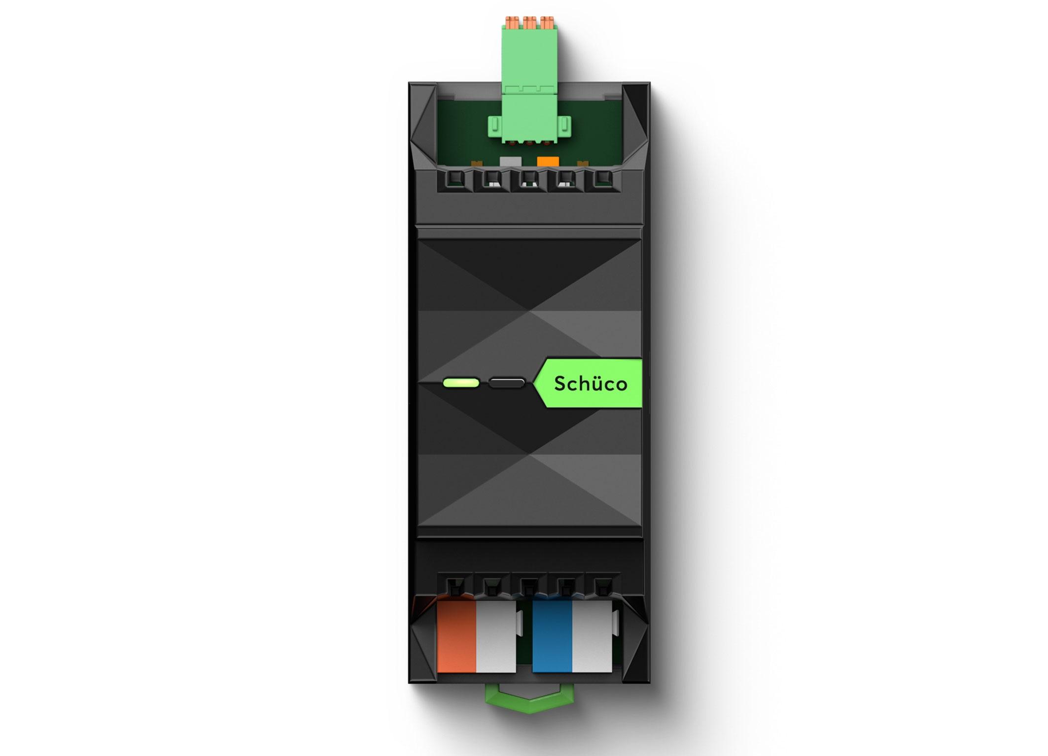 Schüco automatiza sus sistemas de correderas y ventanas de la mano de Loxone