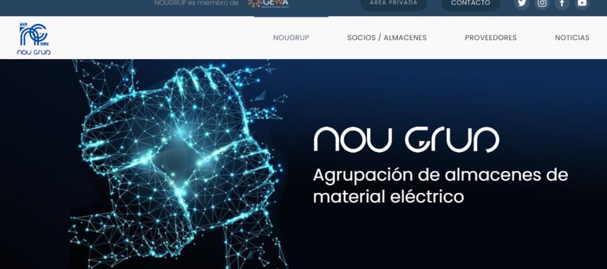 Nou Grup alcanza el medio centenar de distribuidoras de material eléctrico