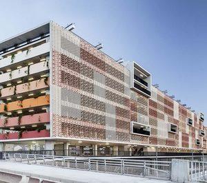 Flexbric en la renovación del Parking Saint Roch de Montpellier