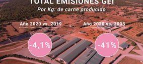 El sector porcino reduce más de un 4% sus emisiones en 2020