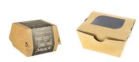 Los envases de papel en restauración rápida, más sostenibles que el menaje convencional