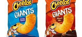 Pepsico se refuerza con el lanzamiento de Cheetos gigantes