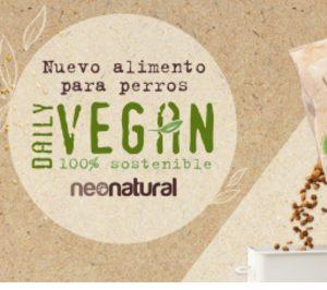 La tienda on-line NeoNatural lanza su propia maca de comida vegana para perros