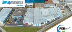 Knauf recibe un nuevo certificado para su planta de Villafranca del Penedès