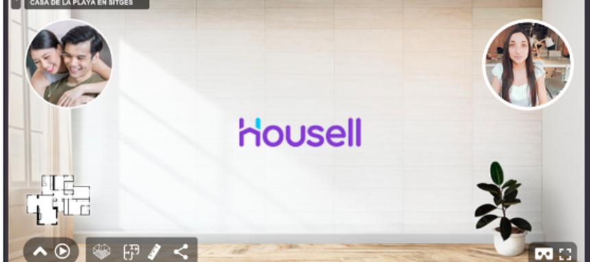 Housell optimizará las visitas virtuales a inmuebles con tecnología 3D de la mano de Floorfy