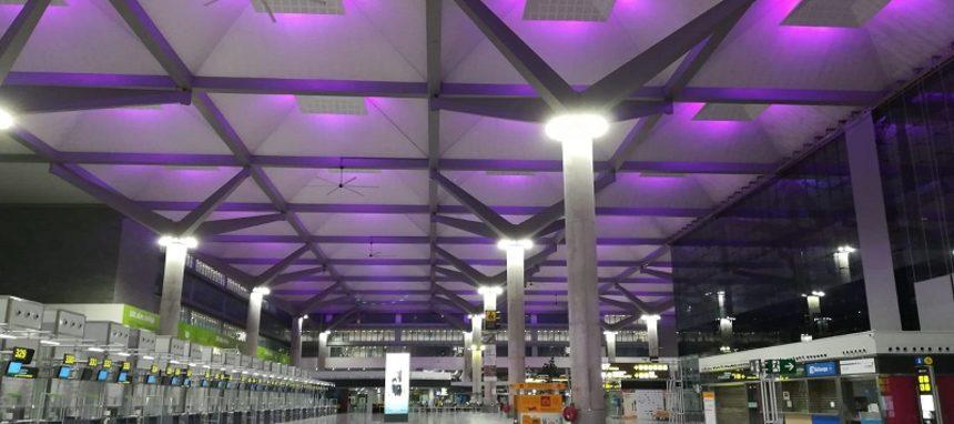 Artesolar renueva la iluminación del Aeropuerto de Málaga-Costa del Sol