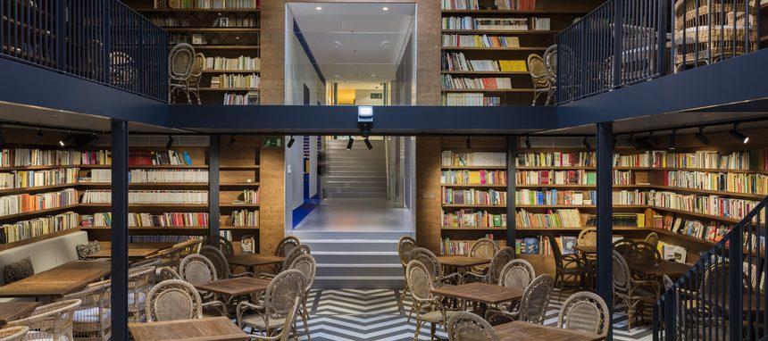 Codina Architectural aporta sus mallas metálicas a la Llibrería Ona