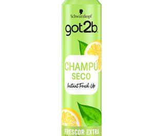 Henkel Ibérica amplía el segmento de champú en seco con su marca Got2b
