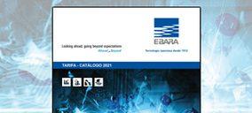 Ebara presenta la nueva Tarifa-Catálogo 2021