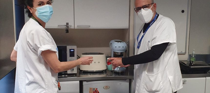 Smeg dona equipos al hospital Vall Hebrón