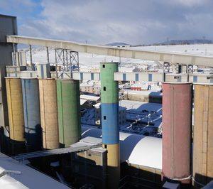 El consumo de cemento cae un 19% en enero por el temporal