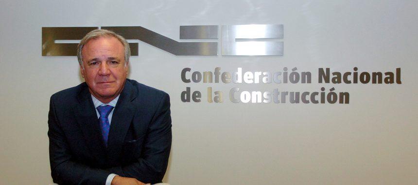 Juan Lazcano abandonará la presidencia de la patronal de la construcción