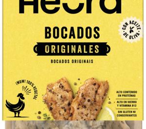 Heura lleva su pollo vegetal a Italia de la mano de la plataforma de delivery Glovo Market