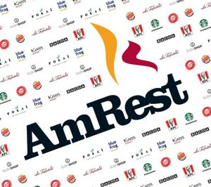 AmRest baja ventas un 38,5% y reduce sus locales un 3,2% en España durante 2020