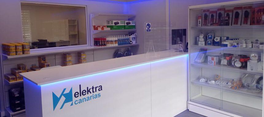 Elektra desembarca en Canarias con tres almacenes