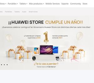 Huawei eStore online cumple su primer aniversario en España