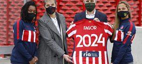 Fagor Electrodoméstico nuevo patrocinador del Atlético Femenino