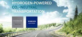 Volvo y Daimler completan su apuesta por los camiones de hidrógeno