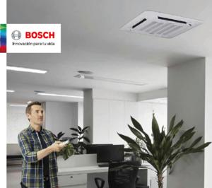 Bosch Comercial-Industrial actualiza su catálogo de aire acondicionado comercial