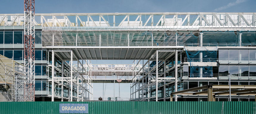 ACS ejecuta obras en España por un importe de 2.300 M