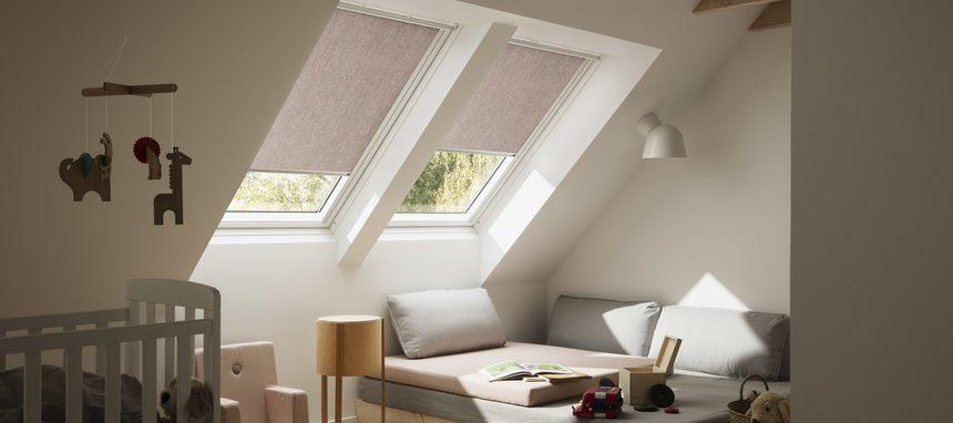 Velux lanza su nueva colección de cortinas para ventanas de tejado