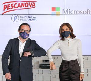 Nueva Pescanova y Microsoft sellan una alianza estratégica para digitalizar la acuicultura del grupo pesquero