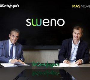 El Corte Inglés y MasMovil lanzan un operador virtual de móvil y fibra bajo la marca Sweno