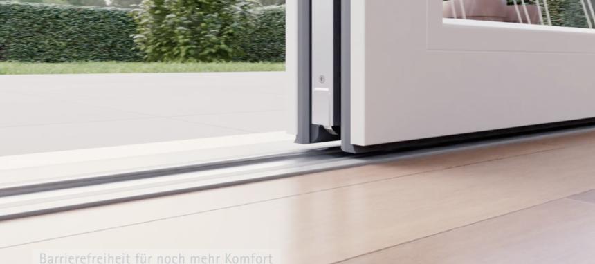 Veka lanza su nuevo sistema de perfiles para puertas correderas elevables