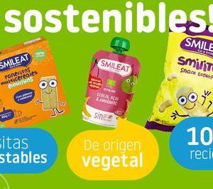 Smileat cambia el 100% de sus envases a materiales sostenibles