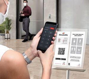 Schindler permitirá controlar el ascensor con el móvil