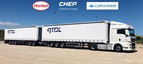 Chep introduce un dúo tráiler a su proyecto de Transporte Colaborativo