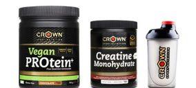 Crown Sport busca su hueco en nutrición deportiva vegana