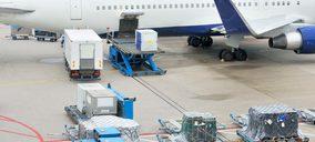 La carga aérea descendió un 16,7% en enero