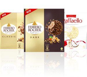 El grupo Ferrero incorpora helados con sus marcas, fabricados por ICFC