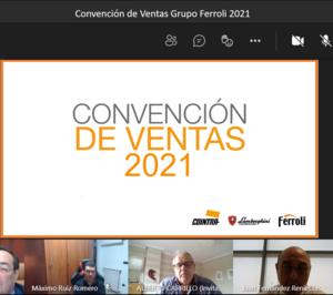 Ferroli celebra su Convención de Ventas 2021