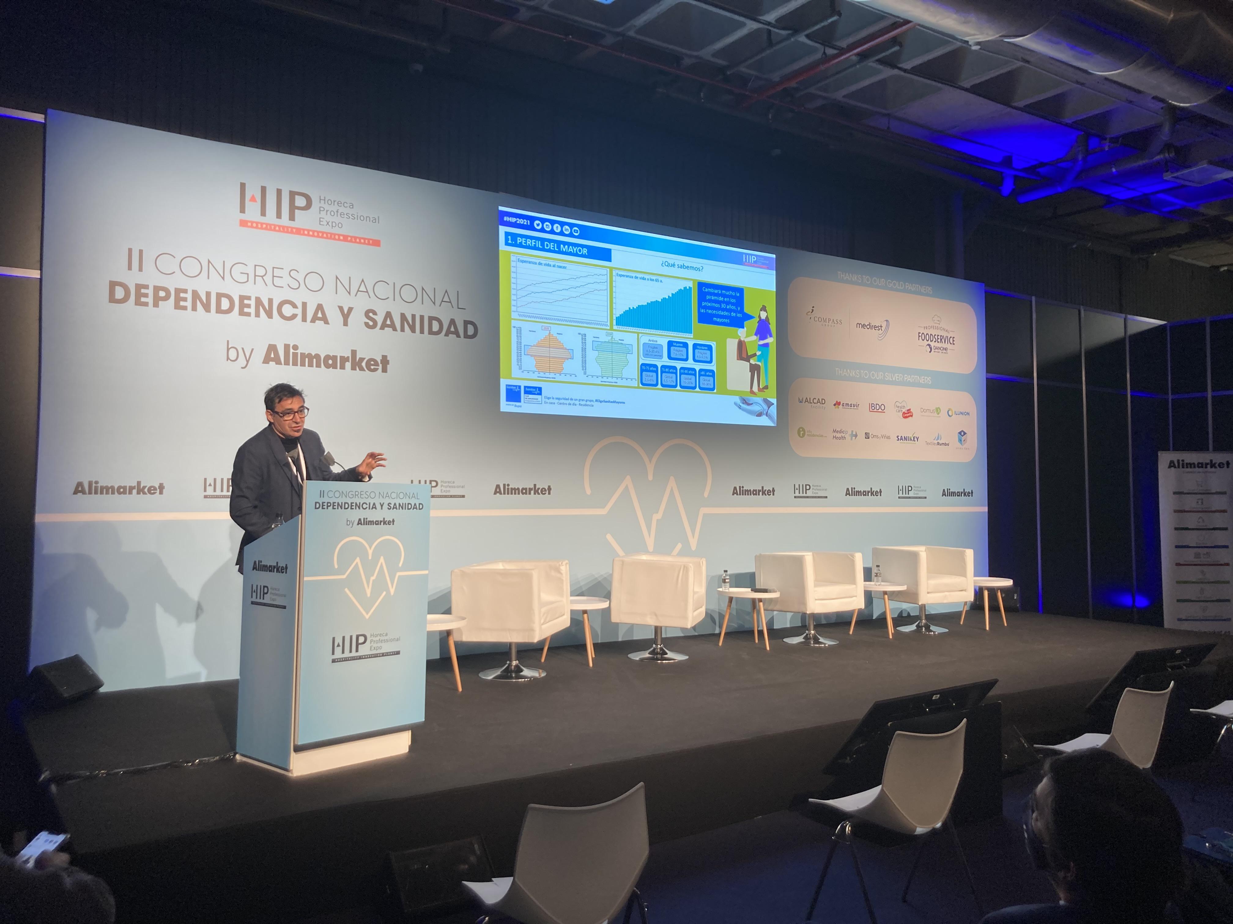 Arranca el II Congreso Nacional Dependencia y Sanidad by Alimarket