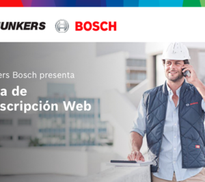 Junkers-Bosch presenta su nueva área web de prescriptores