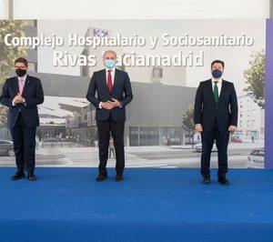 Colocada la primera piedra del futuro Hospital HM Rivas y la nueva residencia de Valdeluz Mayores en esta localidad madrileña
