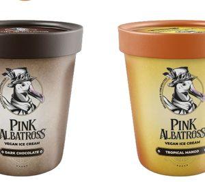 Zyrcular Foods asume la distribución de los helados veganos Pink Albatross