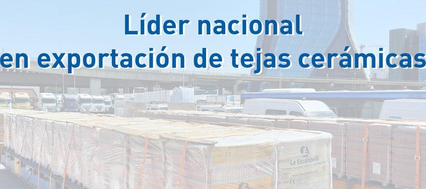 La Escandella lidera la exportación nacional de teja cerámica