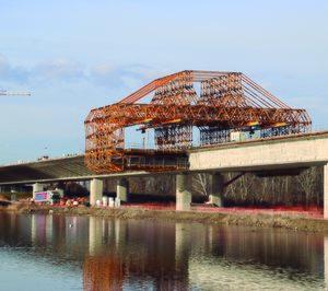 ULMA aporta sus soluciones de ingeniería al puente D4R7 de Bratislava
