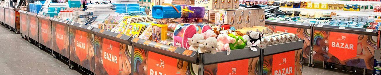 Productos de Bazar en el Supermercado: Un aliado para la dinamización