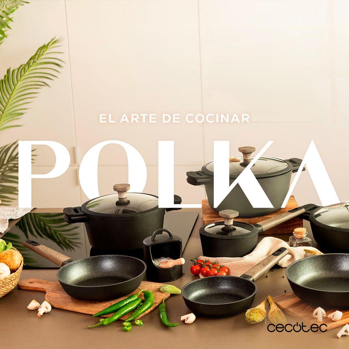 Cecotec presenta su menaje con Polka