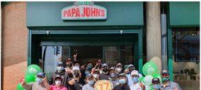 Papa Johns España crece en sus tres principales zonas geográficas