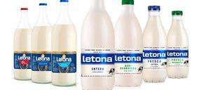 La leche fresca Letona llega a retail en formato UHT