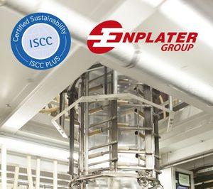 Enplater, reconocida con el sello ISCC Plus