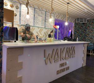 Wakaya duplica su red de locales