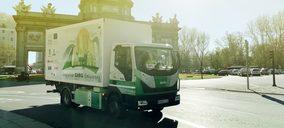 Citylogin inicia pruebas con un camión de reparto 100% eléctrico y fabricado en España