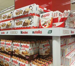 Ferrero Ibérica incrementó sus ingresos un 2% en el último ejercicio