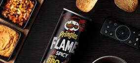 Pringles lanza tres nuevos sabores marcados por el picante
